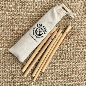 Bamboo Straws – set of 5