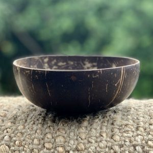 Coconut Bowl Hand carved Smooth Design
