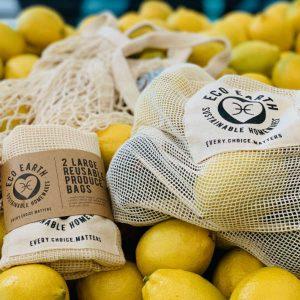 Large Reusable Produce Bags