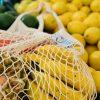 Organic Cotton Mesh Market Bag