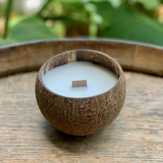 Coconut Soy Candles - Coconut Scent
