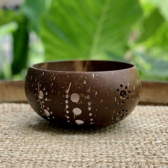 Tealight Coconut Candle Holder