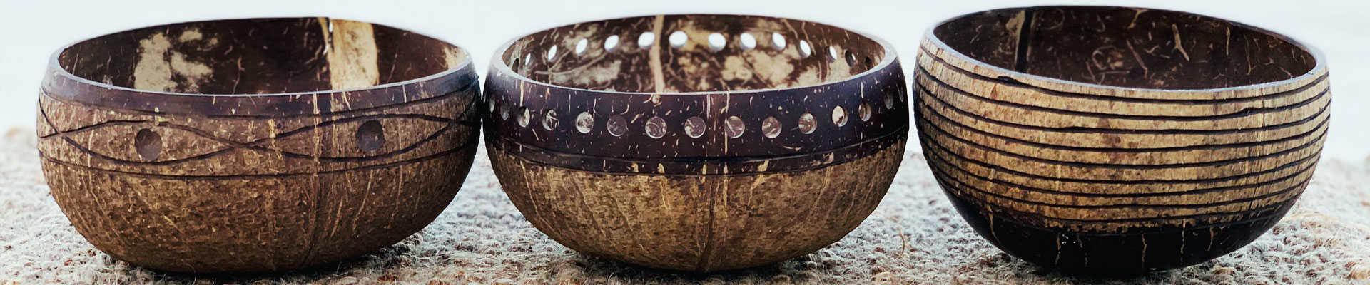 Eco Earth Homewares Coconut Bowls