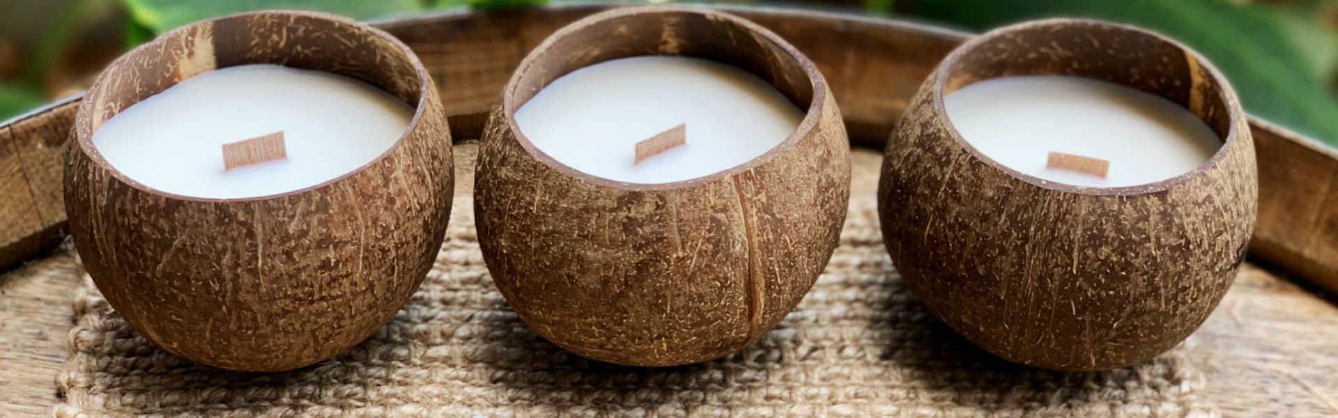 Soy Candles in Coconut