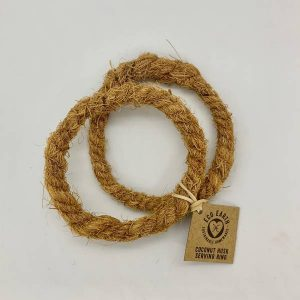 Coconut Husk Serving Rings