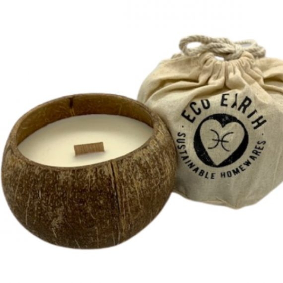 Coconut Soy Candle with carry bag